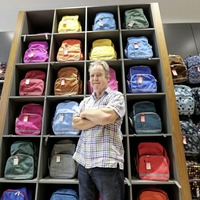 Belfast man Ian Campbell's school bags carrying hope to Filipino families