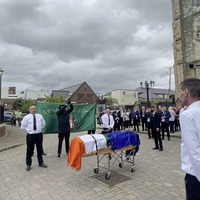 At least two shots fired at west Belfast funeral