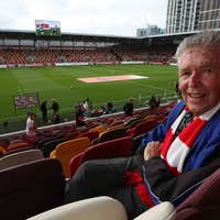 Brentford fan, 88, watches club play top flight football again after 74 years