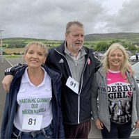 Hundreds join Chieftan's Walk in Donegal and 'virtually'