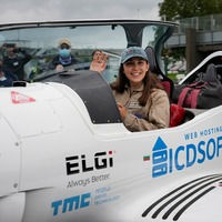 Teenage pilot takes off in bid to become youngest woman to fly around world solo