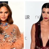 Chrissy Teigen shows off new look inspired by Kourtney Kardashian
