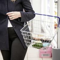 Supermarket shopping behaviour moving away from stockpiling
