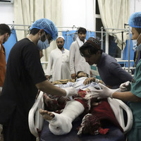 At least 95 Afghans killed in bombings outside Kabul airport
