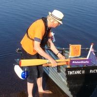 Major Mick brings his Tintanic rowing challenge to Scotland