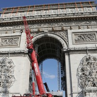 Arc de Triomphe to be wrapped in fabric for posthumous artwork