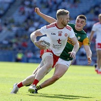 Awesome Tyrone never put a foot wrong - until the press conference room
