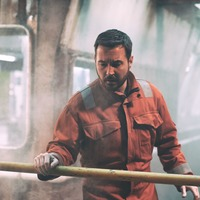 First images offer glimpse of Martin Compston in The Rig