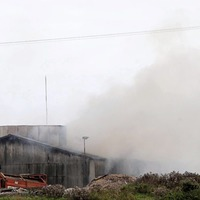 Fire crews tackle major blaze at waste recycling plant in Co Down