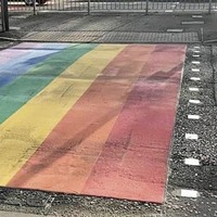 NI's first 'rainbow crossing' unveiled in Derry