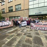 Relatives hold Police Ombudsman protest over delayed reports