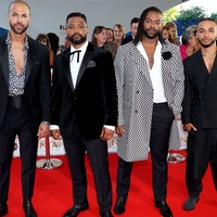 JLS promise NTAs performance will offer 'surprises' as they hit red carpet