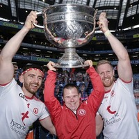 Heart-warming moment as Tyrone fan plucked from Croke Park stand to lift Sam Maguire