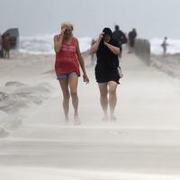 Flash floods feared as Tropical Storm Nicholas strikes Texas coast