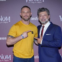 Tom Hardy and Andy Serkis attend London screening of new Venom film