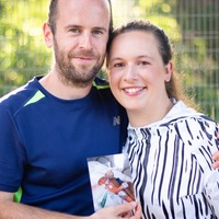 Parents to run marathon for 'angels' who supported them during baby's short life
