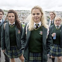 Derry Girls star among critics of former minister's claim hit show is 'distinctly British'