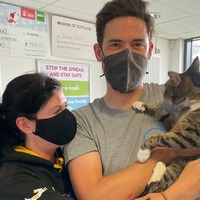 Owners reunited with cat which went missing 10 years ago