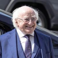 Huge backing for President Michael D Higgins