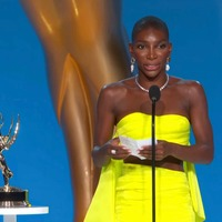 Michaela Coel delivers powerful Emmys acceptance speech