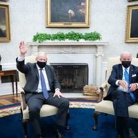 Joe Biden 'wrong' to have concerns over Northern Ireland, Eustice says