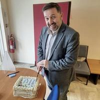 Health minister Robin Swann celebrates 50th birthday
