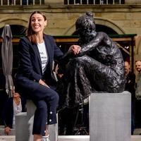 Suranne Jones unveils statue of Gentleman Jack protagonist Anne Lister