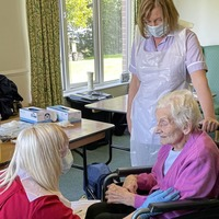 Covid booster vaccine rollout begins across care homes