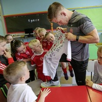 Sam Maguire Cup arrives in Tyrone for a tour of county's primary schools