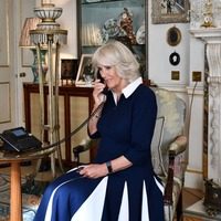 Camilla enjoys storytime call from youngsters as she becomes patron of charity