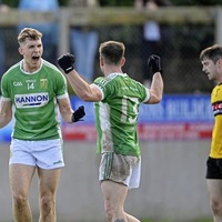 A freak goal and big hearts see Aghagallon over the line against St Enda's