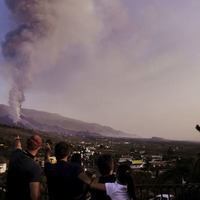 Lava from La Palma volcano surges after crater collapses