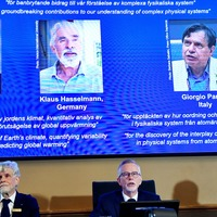 Nobel physics prize goes to three scientists for climate discoveries