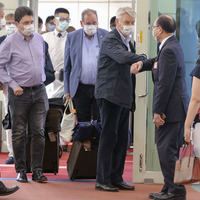French senators arrive in Taiwan amid tensions with China