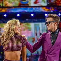 Tom Fletcher and Amy Dowden return to Strictly training after catching Covid