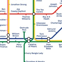 Black history Tube map launched