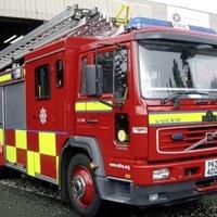 Video: Firefighters tackle huge blaze in Antrim industrial estate