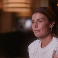 Coleen Rooney features in first trailer for film about her husband Wayne