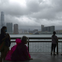 Typhoon prompts Hong Kong to close schools and stock market