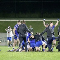 An emotional end to a tough week in Bellaghy