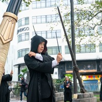 Giant wands bring Harry Potter magic back on 20th anniversary of film release