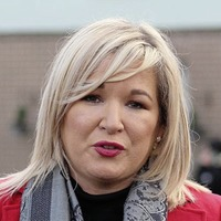 Michelle O'Neill reveals how she had to 'push man out door' of home amid concerns over politicians' security