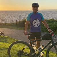 Londoner completes cross-UK triathlon in aid of hospital that saved his life