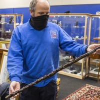 Walking stick of first Northern Ireland PM sells for £10,000 at auction