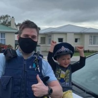 Boy's call asking police to 'come over' and see his toys goes viral