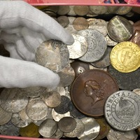 Family's amazement after one of first US coins found hidden in old sweet tin